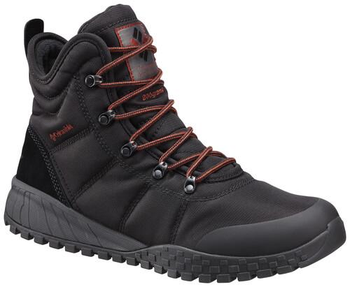 Colombie Chaussures D'hiver Fairbanks Omni-heat Hommes - Noir 5d0qZcd